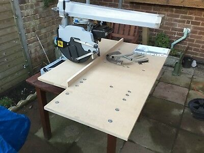 Elu 1501 Radial Arm Saw Superb Condition With Large Arm/Table Identical Dewalt