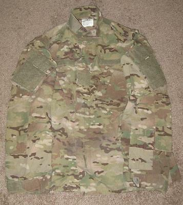 US Army Multicam FR Defender OCP ACU Jacke coat Made USA MXL Medium X Long