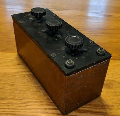 Vintage The Daven Co. Type 188 Decade Resistance box