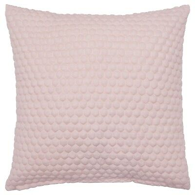 Cushion cover LENJA Diamond pattern pink 50 X 50 cm