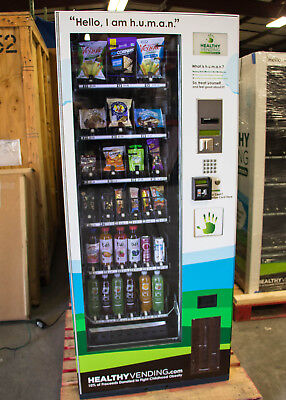 Jofemar Vision Combo Snack and Beverage Vending Machine