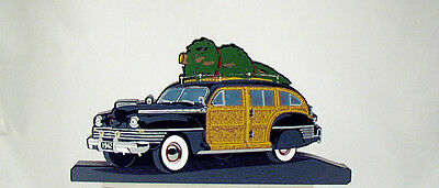 Shelia's Christmas BRINGING HOME THE TREE '99 Vintage Woody Stationwagon-Car Guy
