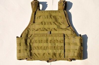 Eagle Allied Industries SOF ISSUE MBAV L/XL Plate Carrier (KH) Vest - Pre-Owned