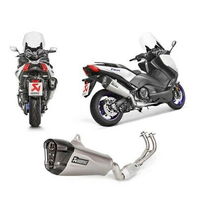 Ligne Complete Echappement Akrapovic Titane Maxi Scooter Yamaha T-Max 530 2017 -
