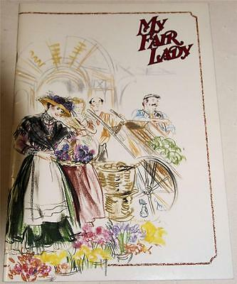 My Fair Lady 1988 Australian Tour Souvenir Theatre Program - Excellent