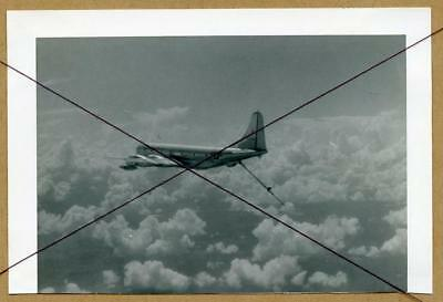 W004 Orig 1954 Photo USAF Aircraft Plane Boom Hanging Air To Air For Refueling