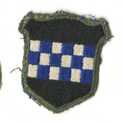 Wwii Original 99Th Infantry Division White Back Patch Europe Bulge Germany
