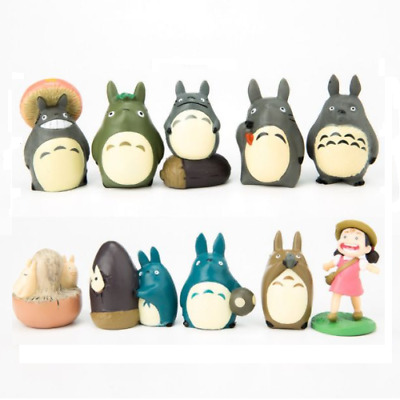 10x My Neighbour Totoro Figure Cosplay Toys Desk Decoration Statues Anime Kids