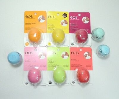 EOS Evolution of Smooth Lip Balm 100% Natural 95% Organic Choose Your Flavor