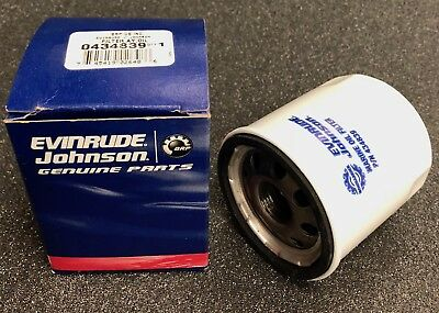 BRP Evinrude Johnson Oil Filter, pn 0434839