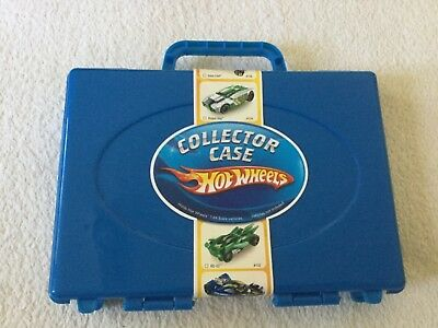 Mattel Hot Wheels collector case / carry case new, unopened holds 15 cars