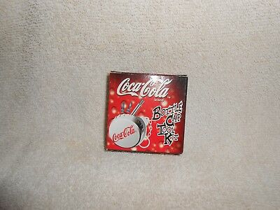 Coca-Cola--Lot of 1 Bottle Cap Tool Kit Key chain w/ Box, Unused