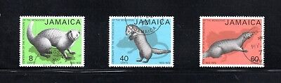 Jamaica 1973 Centenary introduction of Small Indian Mongoose SG 365/7 Used