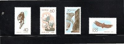 Norway 1970 Nature Conservation Year SG 644/7 MUH