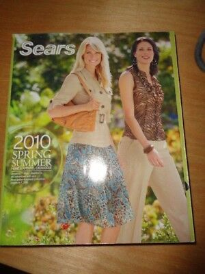Sears Catalog Spring & Summer 2010