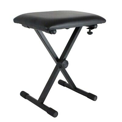 Dicon Audio SB-001 Keyboard Bench Piano Stool Adjustable Height Padded Seat