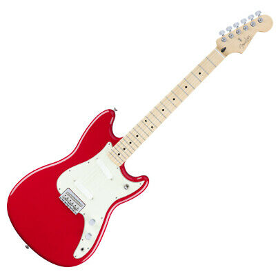 Fender Duo Sonic MN Torino Red Electric Guitar