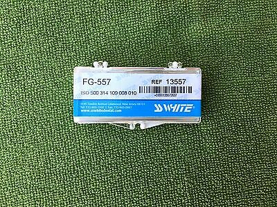 Dental SS White Operatory Carbide Burs FG 557 clinic pack 13557 , Midwest
