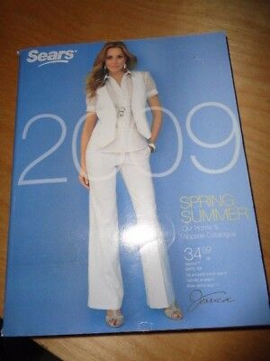 Sears Catalog Spring & Summer 2009