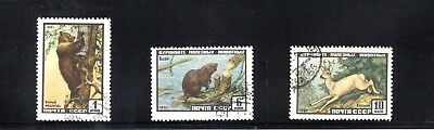 Russia 1961 Russian Wildlife SG 2534/6 Used
