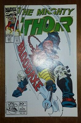 The Mighty Thor #451 (Sep 1992, Marvel)