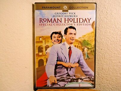 Roman Holiday 1953 Gregory Peck Audrey Hepburn Eddie Albert Collector Dvd