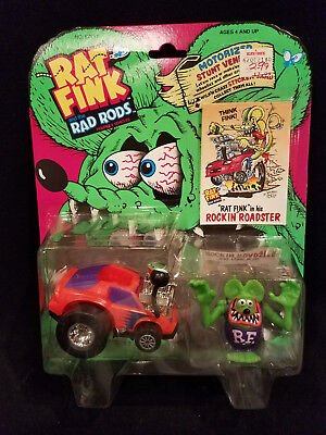 Kenner Rat Fink and the Rad Rods Figures & Vehicles ~ Rockin' Roadster NEW