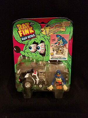 Kenner Rat Fink and the Rad Rods Figures & Vehicles ~ Bruiser Cruiser - New