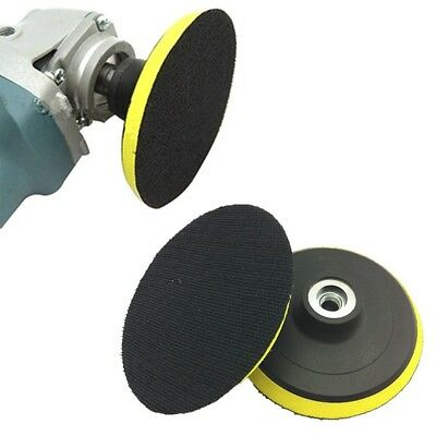 Polisher Buffer 125mm Angle Grinder Sander .Polishing Buffing Wheel Pad Kit Pro