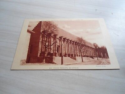 carte postale exposition coloniale internationale  paris 1931