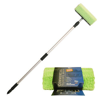 WORKSHOPPLUS HD Telescopic Wash Brush for vans & trucks 2.5M