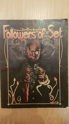 Vampire: The Masquerade Clanbook: Followers of Set Revised 2001 Softcover