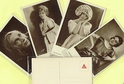 ROSS VERLAG - 1920s Film Star Postcards produced in Germany #533 to #570