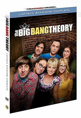 The Big Bang Theory - Stagione 8 (3 DVD)  - ITALIANO ORIGINALE SIGILLATO -