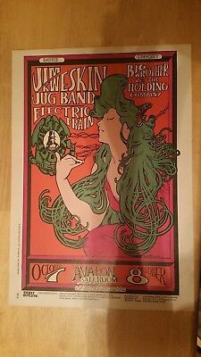 Family Dog Poster-FD-29-Jim Kweskin and Big Brother &the Holding Company-Mouse-3