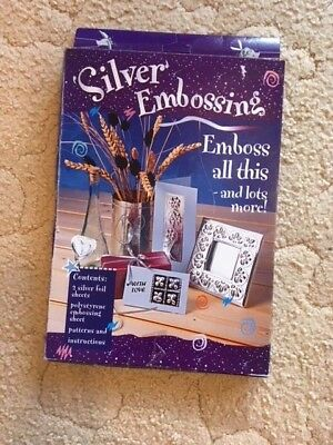 Silver Embossing Kit by Creative Crafts - NEW