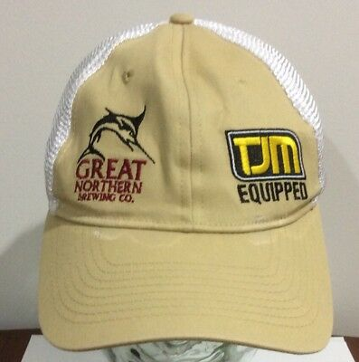 Great Northern Brewing Co. And Tjm Equipped Cap,great Northern Brewing Co.cap
