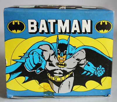Very Rare Vintage 1989 Batman Full Box With 100 Sticker Packs Greece Greek New !
