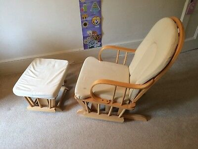 Hauck Breast Feeding Rocking Chair And Stool