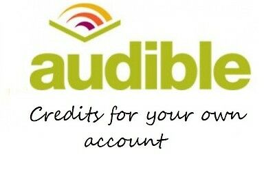 3 audible uk credits for your own account