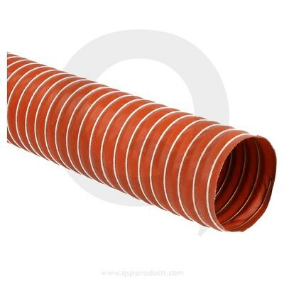 Flexible silicone ducthose, 76mm