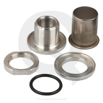 Self Sealing fitting - 3/8 NPT internal thread, Aluminium