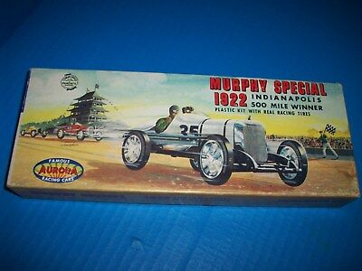 Vintage , Aurora , 1922 Murphy Special  , Indianapolis 500 , plastic model kit.