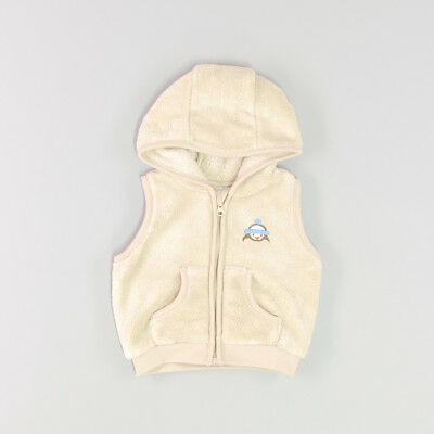 Chaleco polar color Beige marca Baby Club 3 Meses  161805