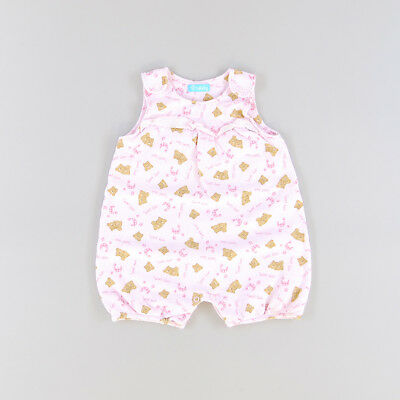 Pelele color Rosa marca Lullaby 12 Meses