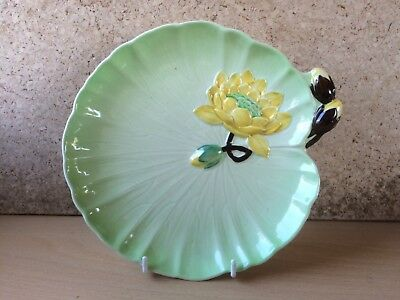 Early Carlton Ware Water Lily Large Plate 1783