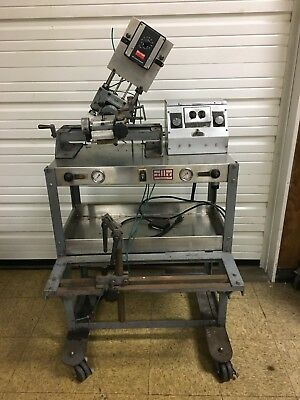 Miller Process Coating Company 45C Gold Bander/Beader Decorating Machine # 428