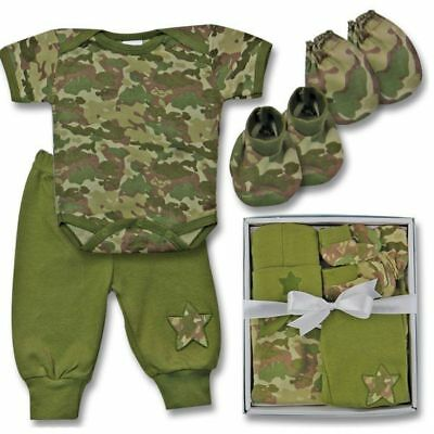 fd2adf976 WOODLAND BABY CAMO Boy Baby Outfit Pant Set Newborn Baby Boy Camouflage  Clothes - $14.99 | PicClick