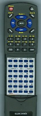 Replacement Remote for NAKAMICHI RM7CA, RM-7CA, RTRM7CA, CA-7A
