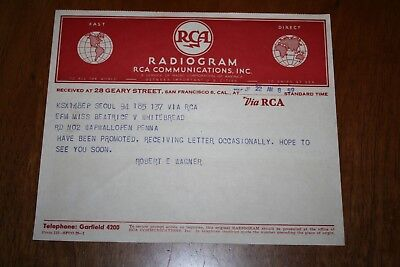Vintage RCA Radiogram from Seoul WW2